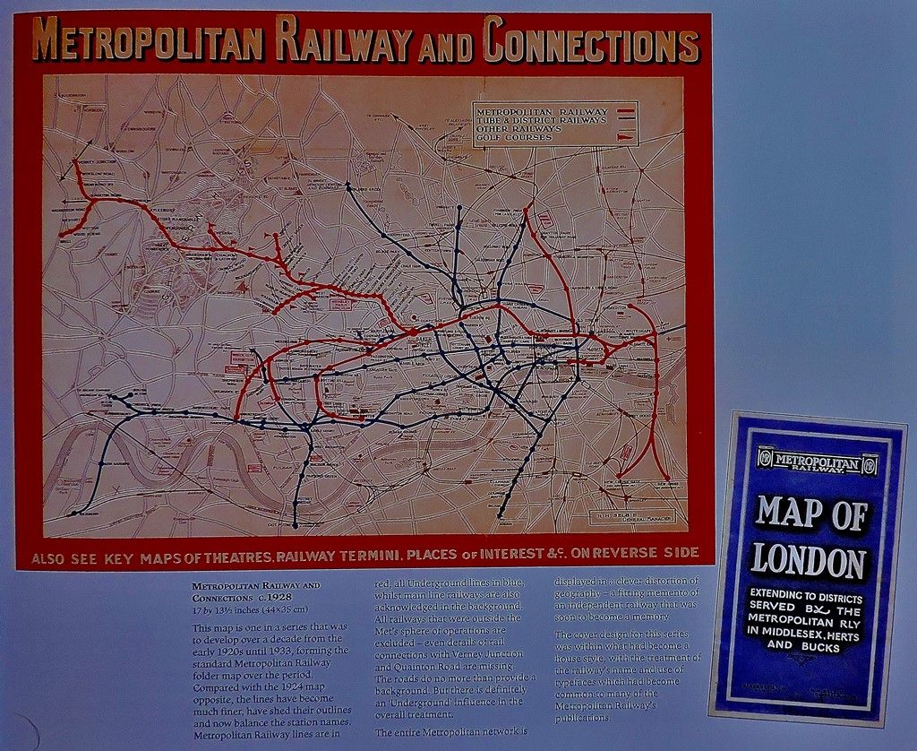 A well-known map - one of the originals is on display at the London Transport Museum.