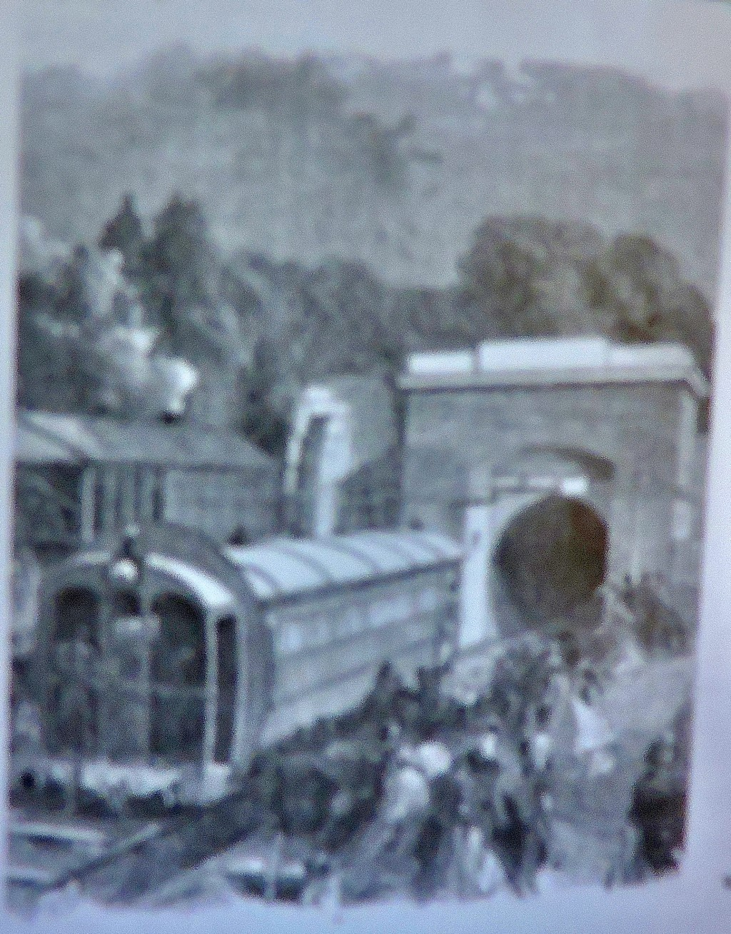 The atmospheric railway at Crystal Palace.